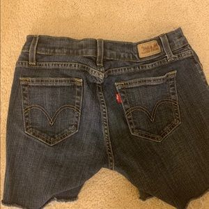 LEVIS 529 Curvy Boot Cut —> diy shorts cut offs